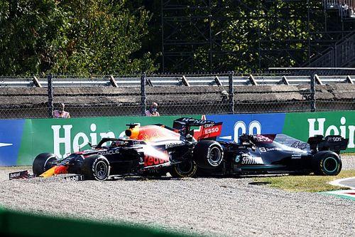 """Horner ve como """"incidente de carrera"""" el choque Verstappen/Hamilton"""