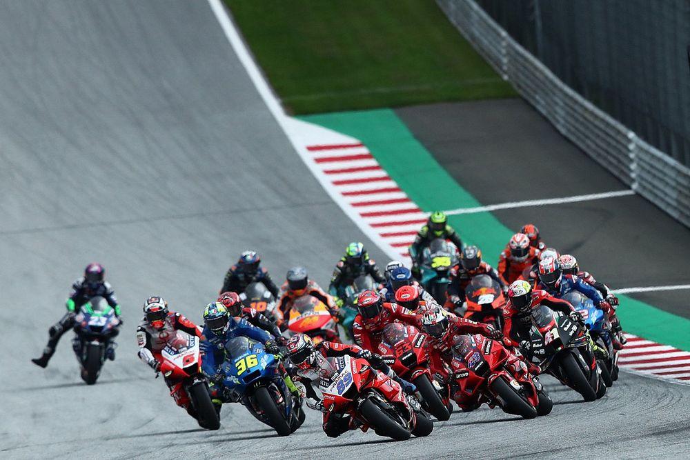 Lap Chart MotoGP: Il crollo verticale di Bagnaia in Stiria