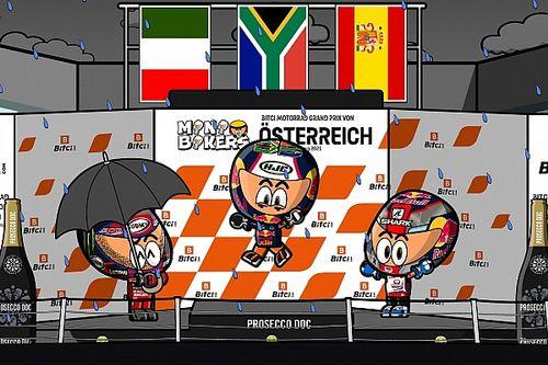 Vídeo: el disparatado GP de Austria de MotoGP, según MiniBikers