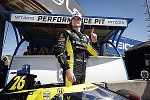 Herta con la pole en Laguna Seca; Palou y O'Ward en top 10
