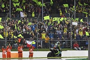 """Rossi """"very sad"""" with difficult final British MotoGP appearance"""