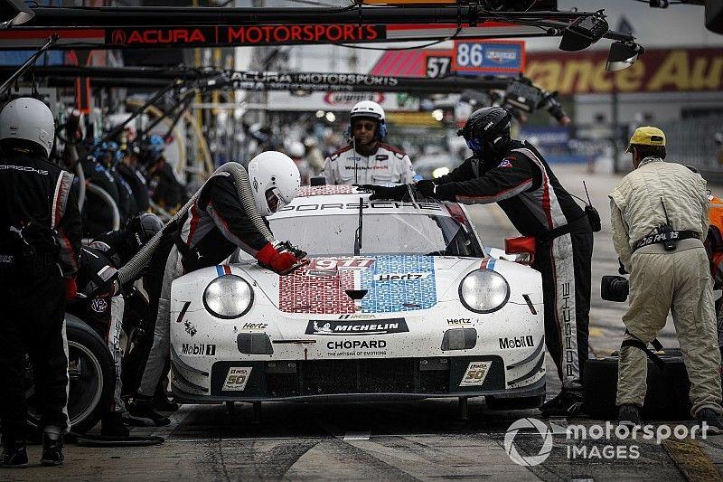 "Porsche ""lucky"" with final Sebring caution - Tandy"