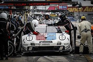"Porsche ""lucky"" with final Sebring caution - Tandy"