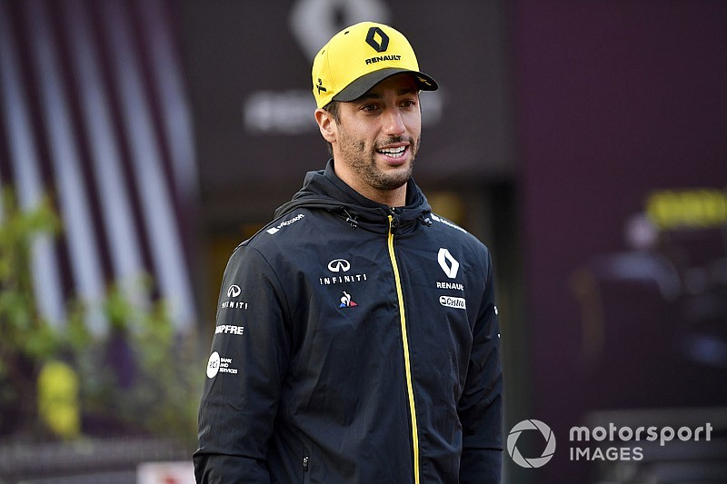 "Ricciardo ""accepts"" judgement on current F1 form"