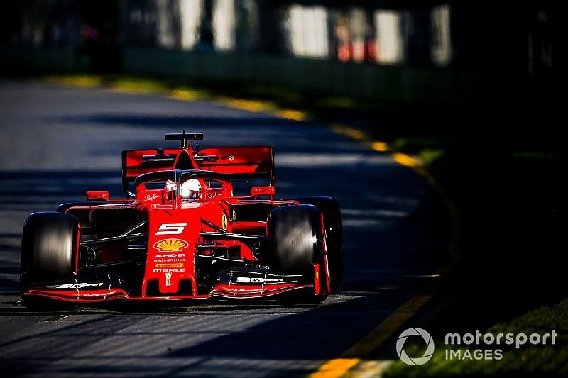 """Vettel : Ferrari """"lent partout"""" sauf les virages rapides à Melbourne"""