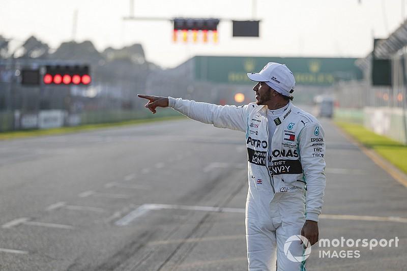 Hamilton, Senna ve Schumacher'in rekorunu yakaladı