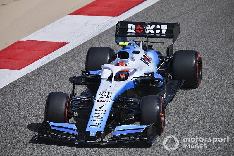 """Kubica feels his car """"completely different"""" to Russell's"""