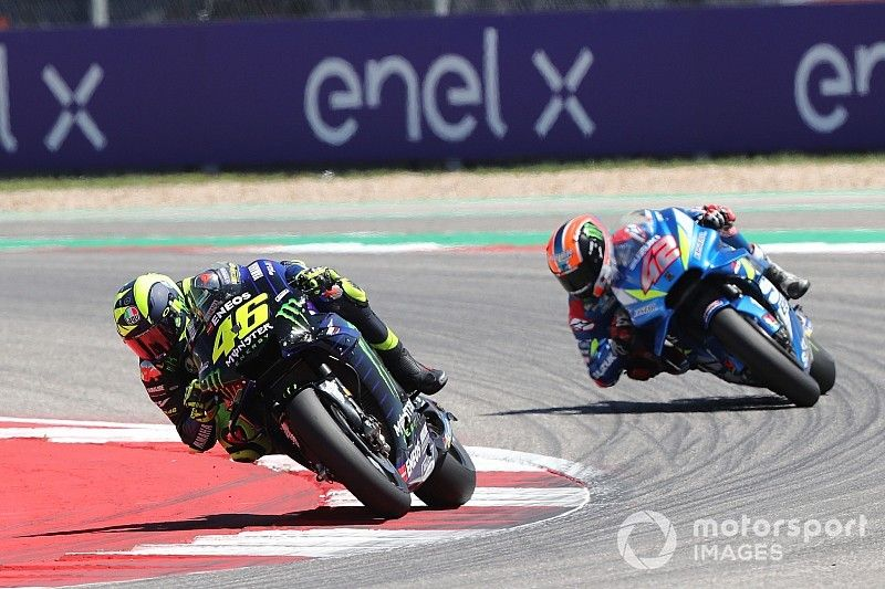 """Rossi: Rins was """"better than me"""" in Austin showdown"""