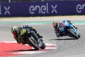 "Rossi: Rins was ""better than me"" in Austin showdown"