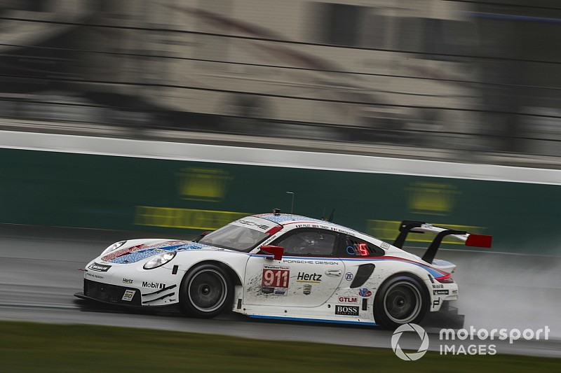 "Porsche ""in bad situation"" if Sebring rain arrives"