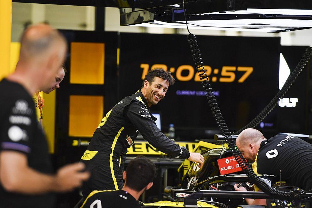 Ricciardo a senti Renault intimidé par son arrivée