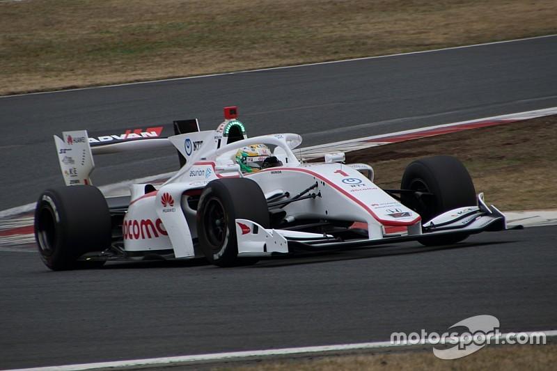 Yamamoto tops first Fuji Super Formula test day