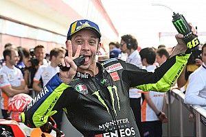 """Rossi festeja 2ª colocação: """"corri como quando era jovem"""""""