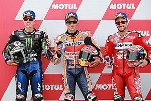 La grille de départ du GP d'Argentine MotoGP