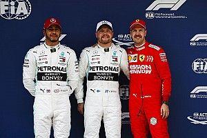 Starting grid F1 GP Tiongkok 2019