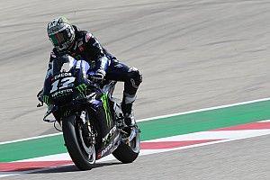 MotoGP, Austin, Libere 2: Vinales precede Marquez e Rossi, Dovi solo 11°