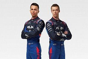 Kvyat y Albon vestirán nueva combinación de colores para Toro Rosso