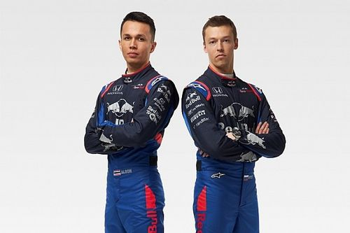 Kvyat e Albon terão novas cores de macacão na Toro Rosso