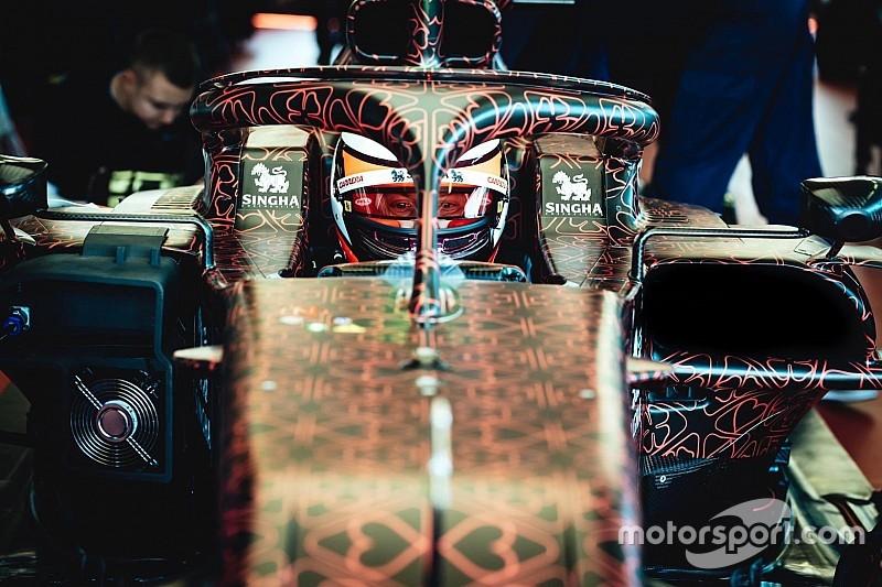 Räikkönen: jó érzés volt az első menet az idei Alfa Romeo Racing-kocsival