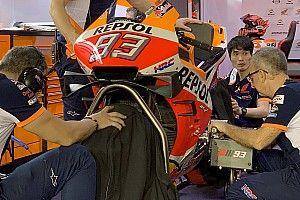 Test MotoGP Losail: Honda prova una nuova carena, Yamaha un codone più snello