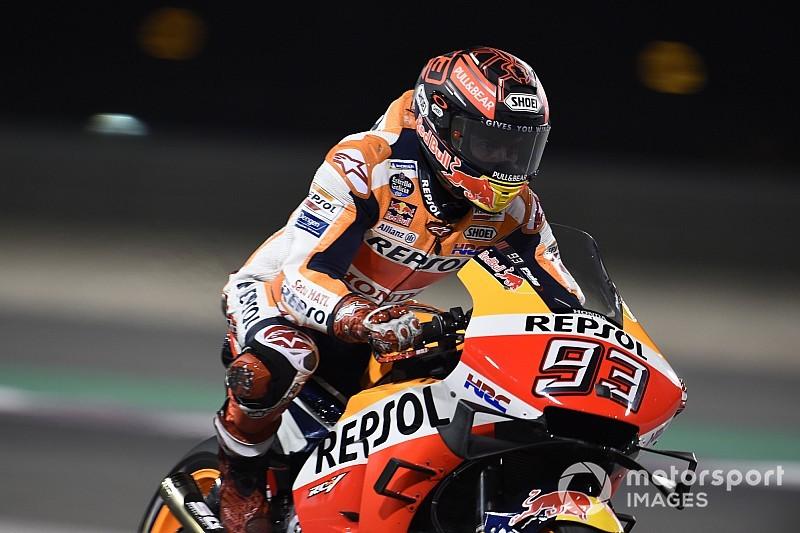 """Marquez non si nasconde: """"Arrivo alla prima gara quasi al 100%"""""""