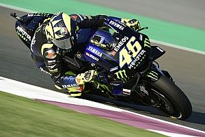 Qatar MotoGP: Rossi leads Lorenzo in first practice