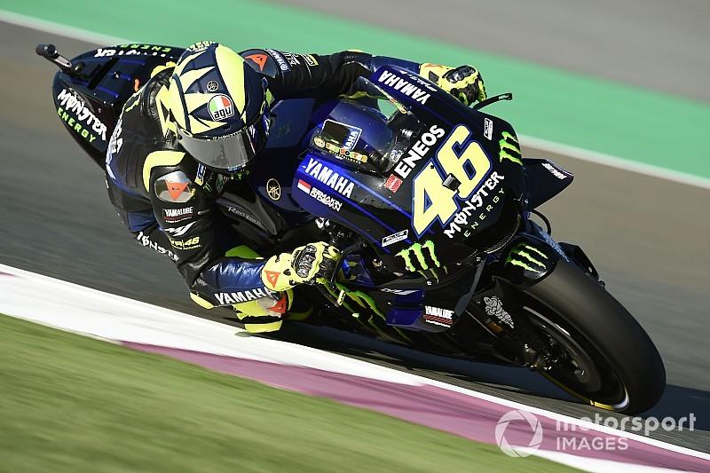 MotoGP in Katar FT1: Valentino Rossi vor Honda-Duo Schnellster