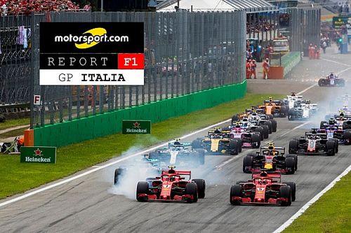 Motorsport Report: il GP d'Italia della Ferrari visto da Nugnes e Schittone