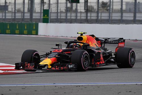 Desempenho da Red Bull em Sochi surpreende Verstappen