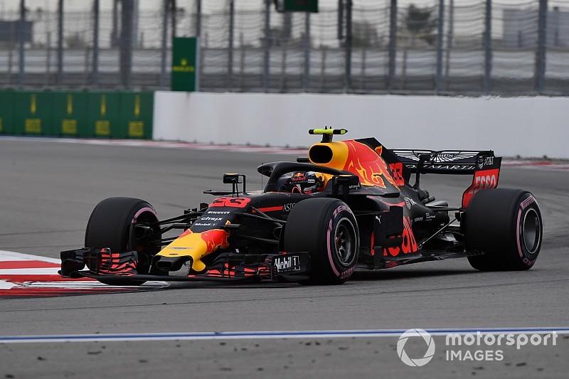 Verstappen no imaginaba estar tan arriba en Sochi