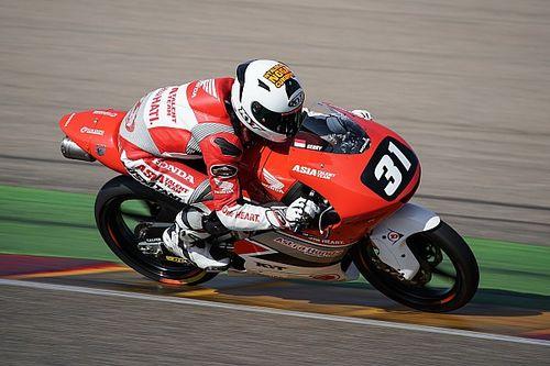 CEV Moto3 Aragon: Finis ke-16, Gerry Salim catat kemajuan