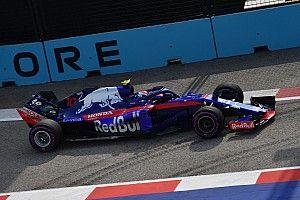 シンガポールFP1速報:リカルドがトップ。トロロッソのガスリー16番手