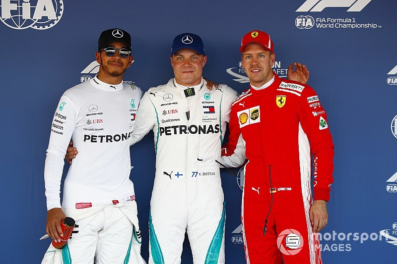 "Гран Прі Росії: Боттас ""вкрав"" поул у Хемілтона, Mercedes знищила Ferrari"