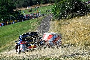 Szenzációs képek a Német Raliról: teper a WRC mezőnye
