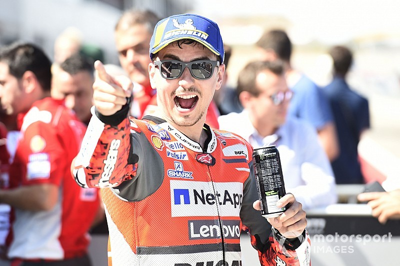Lorenzo hekelt 'Tour de France-kwalificatie' in Aragon