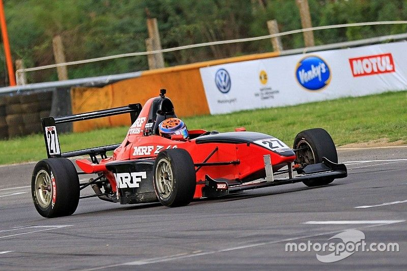 Chennai MRF F1600: Chatterjee converts pole to win