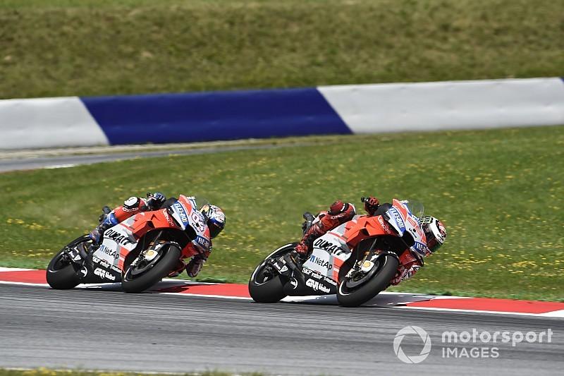 Treffen mit Lorenzo und Dovizioso: Ducati will die Situation entschärfen