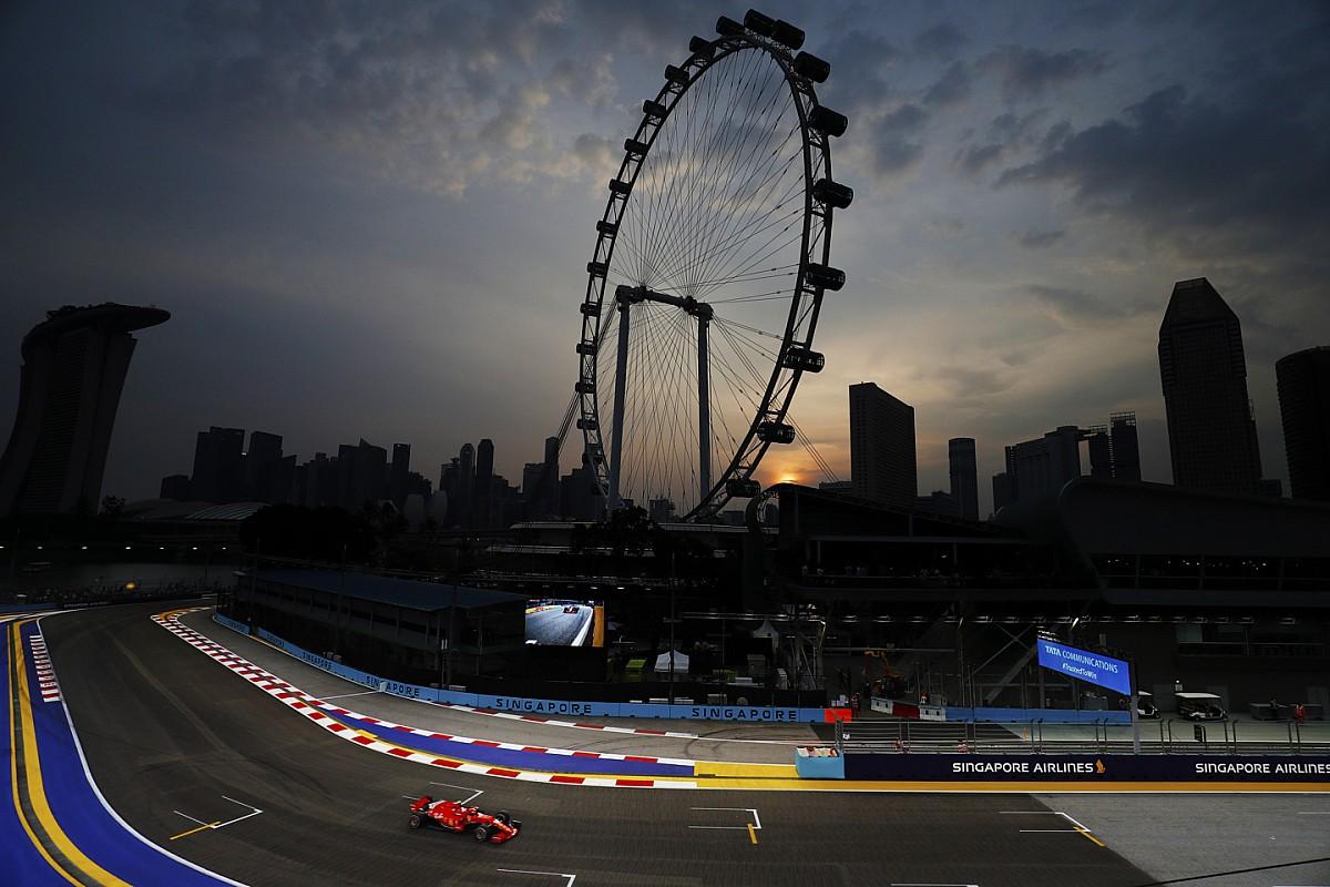 Red Bull met offensieve bandenkeuze naar Singapore