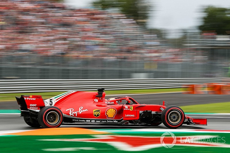 Vettel domina TL2 em Monza marcado por acidente no início