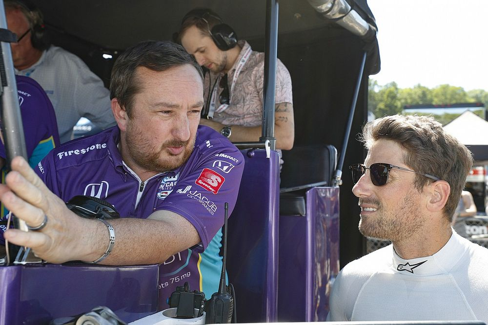 Grosjean está listo para Indy 500, dice su ingeniero