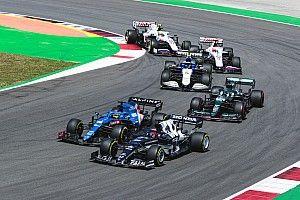 Положение в общем зачете Формулы 1 после Гран При Португалии