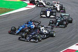 角田裕毅、15位で終えたF1ポルトガルGP「十分なグリップも、ペースもなかった」