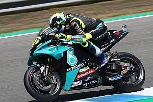 Rossi maakt kleine stapjes tijdens MotoGP-test in Jerez