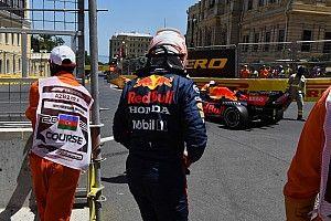 """F1: Verstappen ainda vê boas chances em Baku, após quali """"estúpido"""""""
