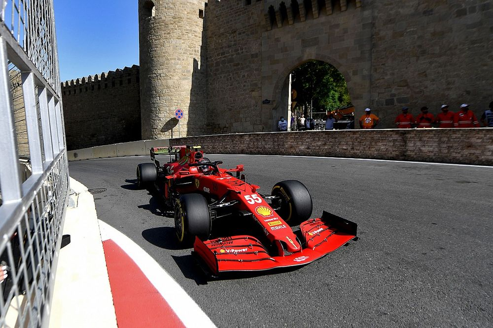 """Ferrari won't be """"deluded"""" by F1 Baku practice form"""