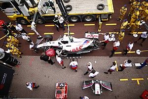 Schumacher ruled out of Monaco GP qualifying after practice crash