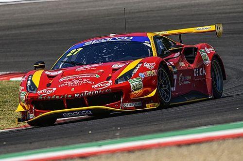 GT Italiano, Mugello, Libere 3: poker Ferrari con Baldini al top