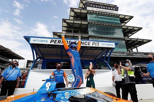 Dixon gana la pole para la edición 105 de las 500 Millas de Indianápolis