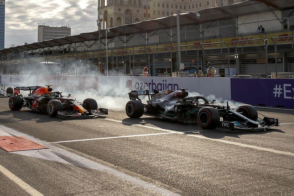 ترتيب بطولتَي السائقين والصانعين للفورمولا واحد بعد سباق باكو