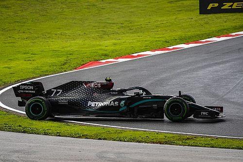 """Bottas rodou seis vezes no """"desastroso"""" GP da Turquia de F1"""